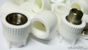 PPR All Plastic Fittings Pipe Plastic Material Cross DIN 8077/8078