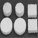 Filtro de espuma cerámica de alúmina para filtrar metal fundido