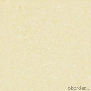 Polished Porcelain Tile Crystal Jade Serie Yellow Color 26603