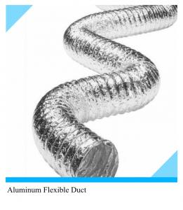 Ventilated Flexible Duct For HVAC