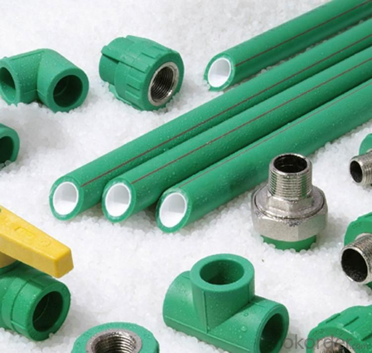 PPR Pipe Water Supply DN25mm  DIN 8078 Green Colour