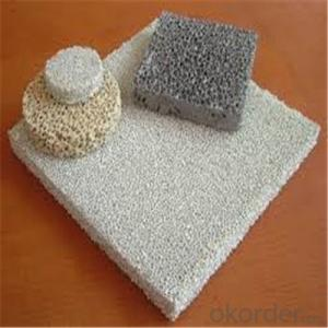 Alumina Ceramic Foam Filter for  Air and Water Treatment