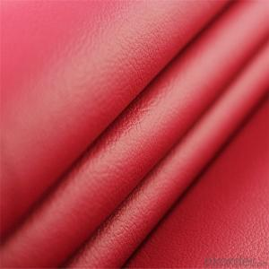PU PVC Artificial Leather Waterproof Embossed