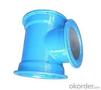 Buy Ductile Iron Pipe Fittings All Socket Tee Cas Iron EN598