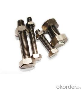 Bolt M6*80 HEX Made in China on Sale with Good Quality