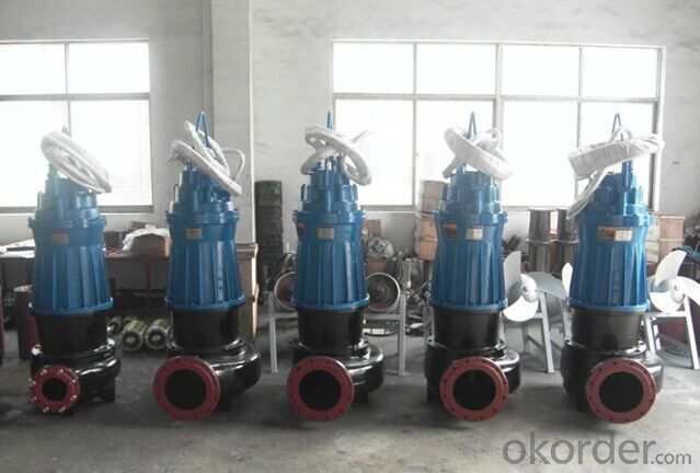 WQ Submersible Sewage Pump for Waste Water
