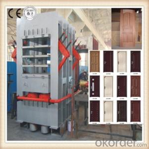 Wood Door Skin Compressing Machine Made in China