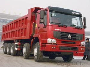 Dump Truck  China 8*4with The Lowest Price