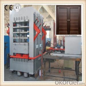 Single Layer Door Skin Veneer Press Machine