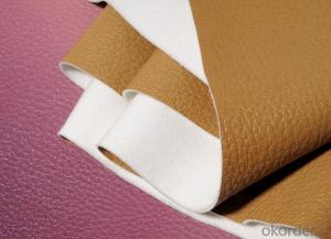 Custom Printed Artificial Natural Chamois Leather Fashion Artificial Leather