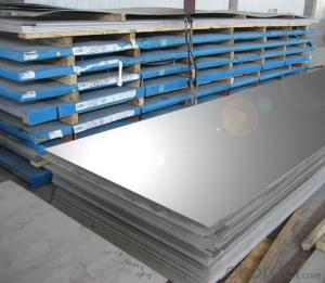 Stainless Steel Metal Sheet with Standard Treatment