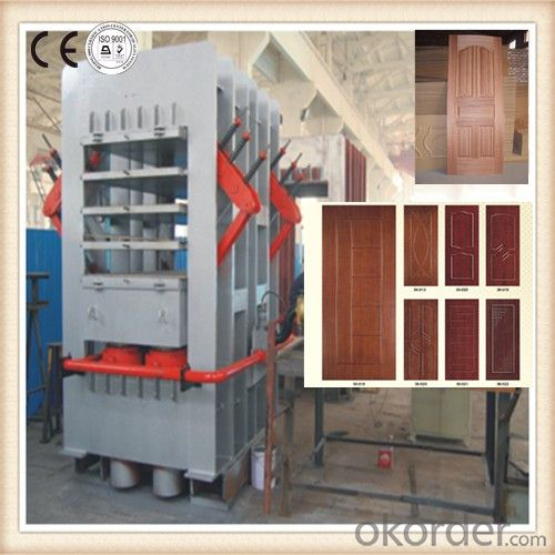 CE Approved Automatic Mould Door Skin Press Equipment
