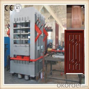 Multilayer Door Press Machine for Wooden Moulding