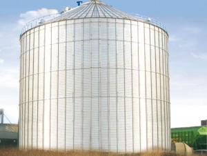 Hot Dip Galvanized Flour Feed Mill Silo Prices