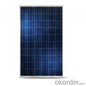 Poly 225W Solar Panel CE/IEC/TUV/UL Certificate