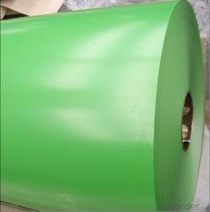 Prepainted aluminum coil with PVC Film AA3105/3003