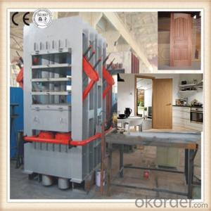 Wood Door Press and Laminate Hot Press Machine