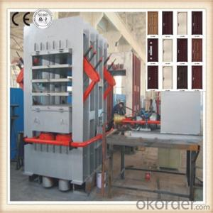 Door Making Machinery Hot Press Machinery