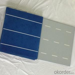 Poly Solar Cells 156*156mm B Grade Low Price