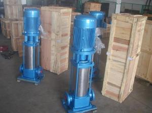 Stainless Steel Vertical Multistage Electric Pump