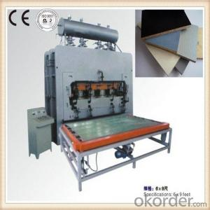 Furniture /Cabinet Board Hot Press Machine