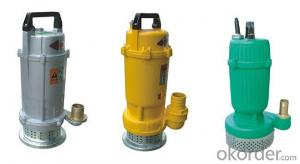 Submerged Water Pump with High Quality (QDX7-18-0.75B)
