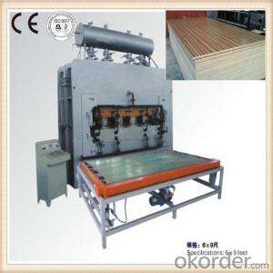 Hot press Machine for Furniture Mould Line