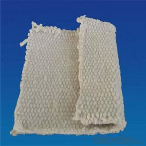Ceramic Fiber Cloth in Lightweight, Woven Texture