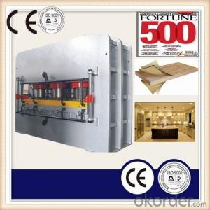 Melamine MDF Laminated Hot Press Machine