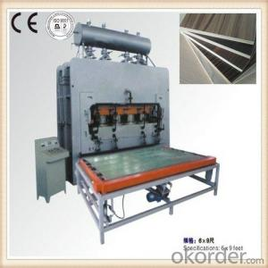 Four Column Hydraulic Hot Press Machinery