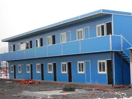 Container House with Two Floors Made in China of CNBM