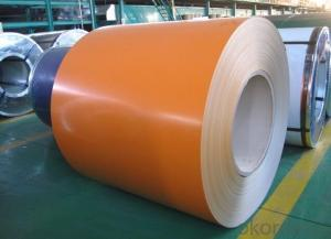 Pre-painted Galvanized/Aluzinc  Steel  Sheet Coil with Prime Quality and Lowest Price Color Orange