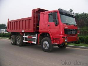 Dump Truck 6X4 340HP 15cbm-20cbm Front Tipping Tipper Truck