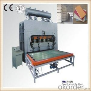 Melamine Veneer Laminating Hot Press Machine