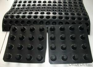 Dimple Textured HDPE Geomembrane Sheet