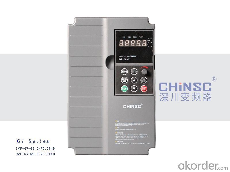 MN Series 220v from 0.4kw to 0.75kw Frequency Inverter