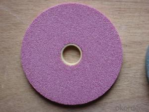 Efficient SG Vitrified Grinding Wheel Made in China