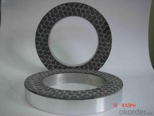 Diamond Spiral one Ring/Row Concave Cup Shaped Grinding Wheel