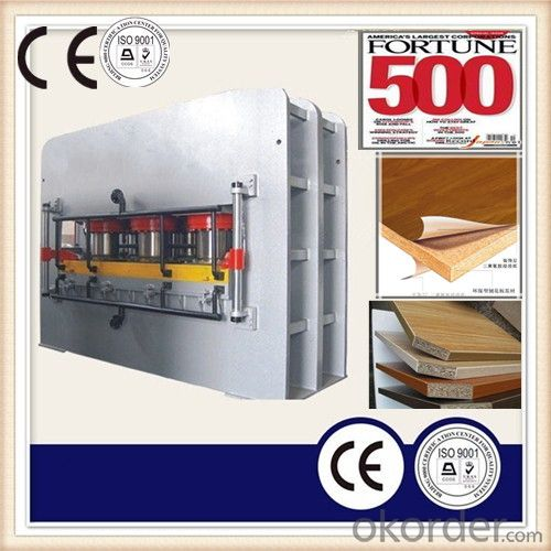 1400T Double Sides Press Machine for Furniture Board Skin Lamination