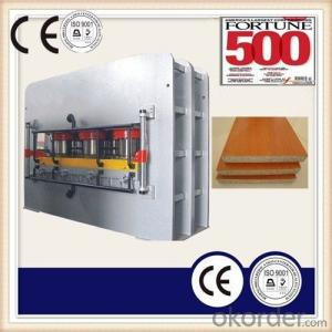 Particle Board Double Short Cycle Laminate Furniture Board Making Machine