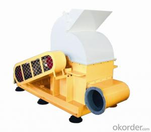 Biomass Wood Chipper Machine Low Power Consumption Type 1
