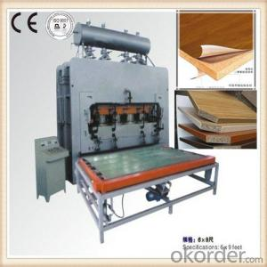 Hot Press Machine Decorative Furniture Moulding