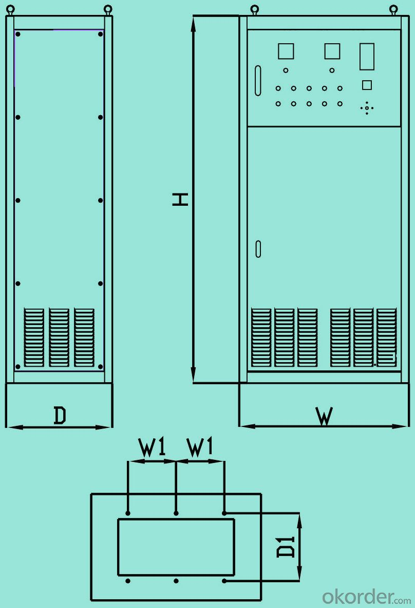 Frequency Drive for 3 Phase  0.4kw AC Variable