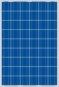 High Efficiency TUV Crystalline Silicon Solar Module
