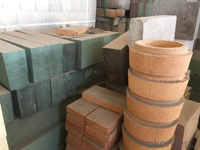 Fireclay Brick with Al2O3 Content around 37%