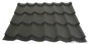 Metal Corrugated Tiles Stone Chip Coated