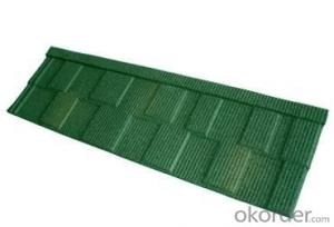 Insulated Stone Coated Metal Roofing Tiles