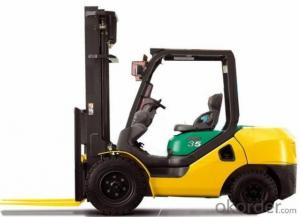 Forklift Truck 3.0t Gasoline-LPG Duel Fuel  with CE