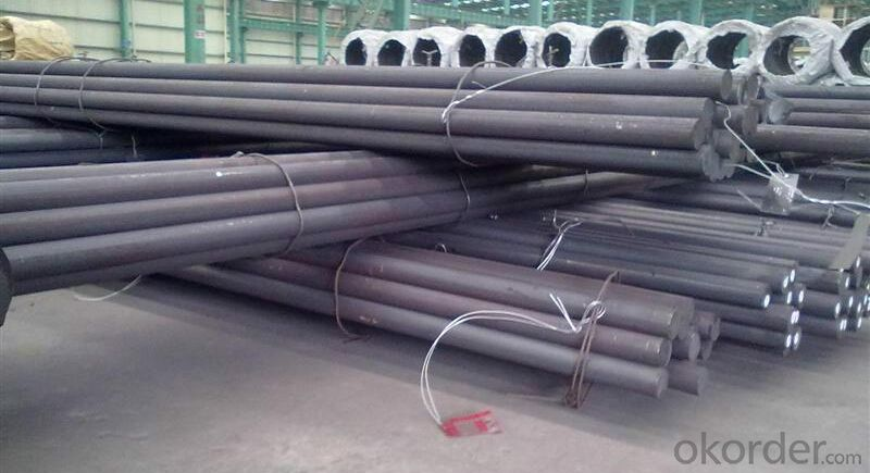 SKD11 Hot rolled steel rod price,1.2379 steel round bar