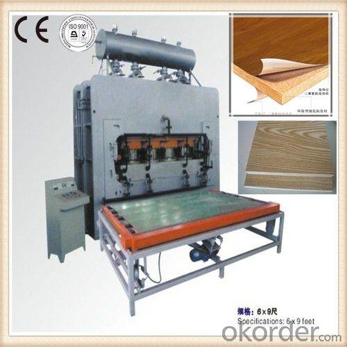 Buy Wood Board Veneer Press Wood Furniture Panel Hot Press Machine